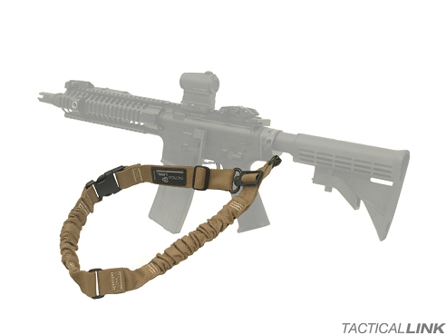 Tactical Link Convertible Bungee QD Tactical Sling For AR15 Style Rifles