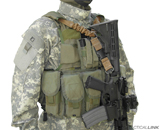 Vest-Integrated Tactical Slings