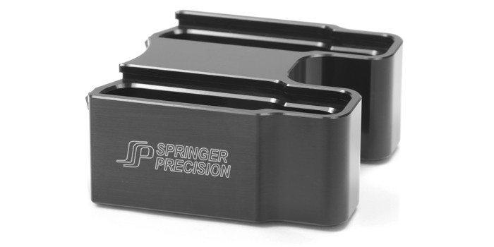 Springer Precision EZ-Pad Max Base Pad Magazine Extension Coupler For Hexmag Magazines