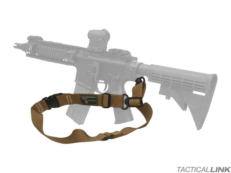 Tactical Link Convertible QD Sling For AR15 Style Rifles
