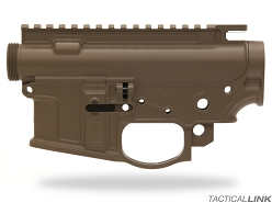 2A Armament Balios Lite Billet Lightweight AR15 Upper & Lower Receiver Matched Set - Cerakote Flat Dark Earth