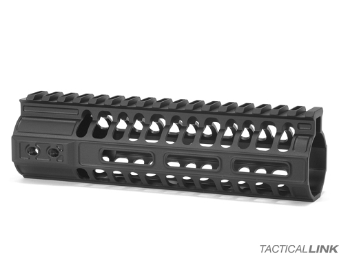 2A Armament 7 Inch MLOK Balios Lite Handguard With Titanium Barrel Nut For AR15 Style 5.56/.223 Rifles