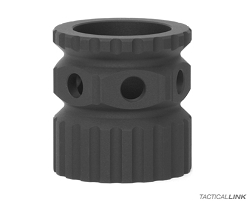2A Armament Lightweight Aluminum Barrel Nut For 2A Armament Balios Lite Handguards