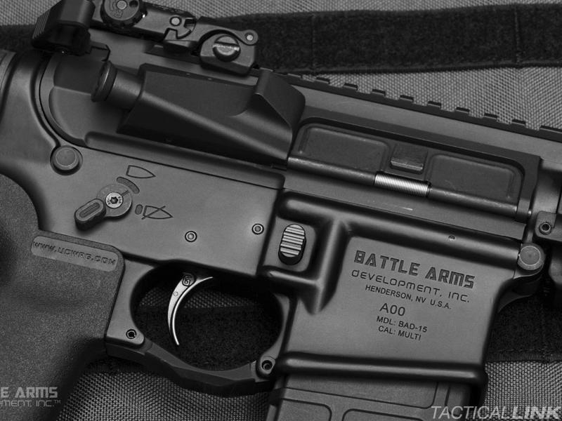 Battle Arms Development Enhanced Magazine Release Button