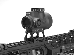 Battle Arms Development Lightweight Optic Mount For The Trijicon MRO - Absolute Co Witness