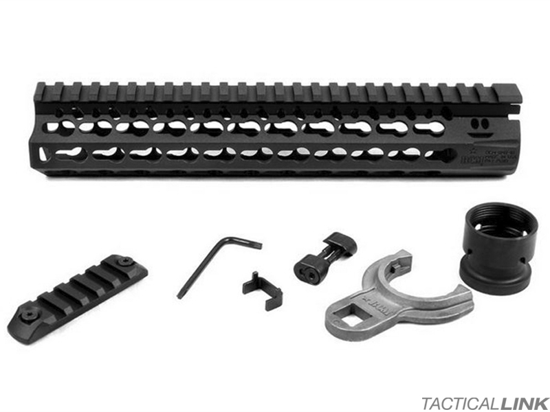 "Bravo Company BCM Gunfighter 10"" Black KMR Keymod Rail Free Float Handguard For AR15 Style 5.56/.223 Rifles"