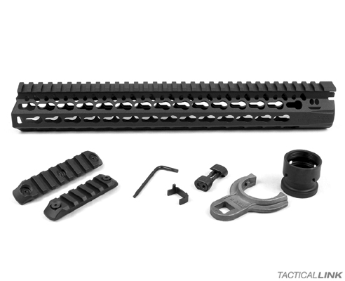 "Bravo Company BCM Gunfighter 13"" Black KMR Keymod Rail Free Float Handguard For AR15 Style 5.56/.223 Rifles"