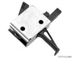 CMC Match Grade 2 Stage Flat Bow Trigger For AR15 & AR10 Rifles - 92504