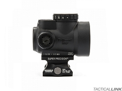 Geissele Automatics Super Precision Optic Mount For The Trijicon MRO - Absolute Co Witness - Black