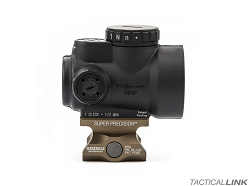 Geissele Automatics Super Precision Optic Mount For The Trijicon MRO - Lower Third Co Witness - Desert Dirt Color