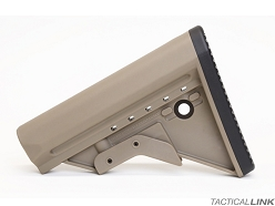 Griffin Armament Extreme Condition Stock (ECS) Milspec Pattern - Flat Dark Earth