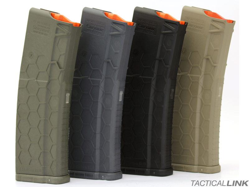 Hexmag 30 Round 5.56/.223 Magazine For AR15 Style Rifles - Series 2