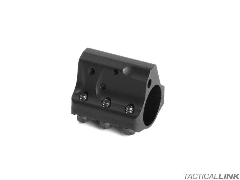 JP Rifles Adjustable Stainless Steel .750 Inch Low Profile Gas Block For AR15 Style Rifles