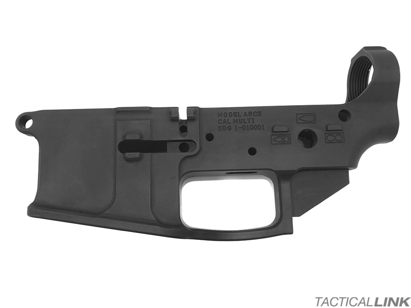 Kinetic Development Group AR15 Enhanced Billet Ambi Lower Receiver