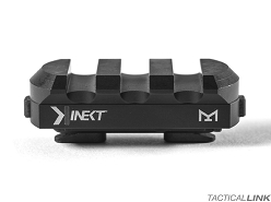 Kinetic Development Group Kinect MLOK Single 3 Slot Picatinny Rail Section - Black