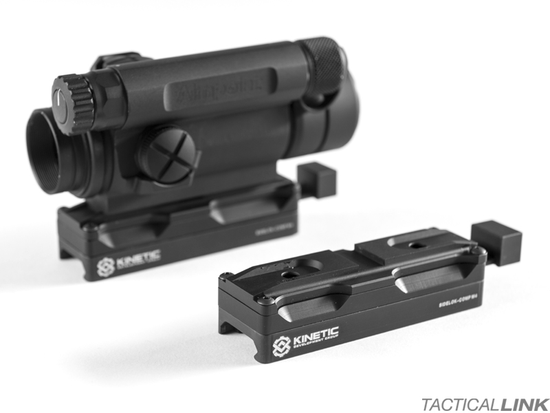 Kinetic Development Group SIDELOK Optic Mount For The Aimpoint Comp M4, C3 & Patrol Rifle Optics