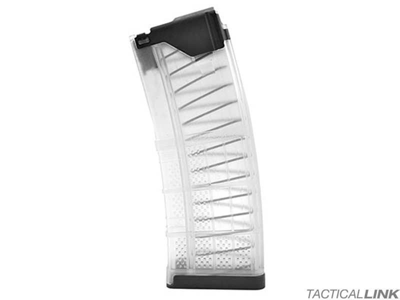 Lancer L5AWM 30 Round 5.56/.223 Magazine For AR15 Style Rifles - Clear