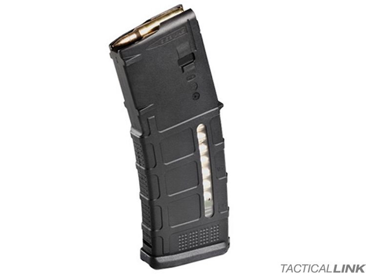 Magpul PMag Gen3 Windowed 30 Round 5.56/.223 Magazine For AR15 Style Rifles - Black