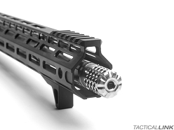 SLR Rifleworks Titanium Synergy Mini Compensator For 16 Inch Barrels For AR15 Style 5.56/.223 Rifles