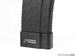Springer Precision +5 EZ Single Base Pad Magazine Extension For Hexmag Magazines