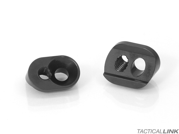 V7 Weapon Systems Titanium KMR Clamp Block Set For The Bravo Company BCM Gunfighter And Alpha Rail Free Float Handguard