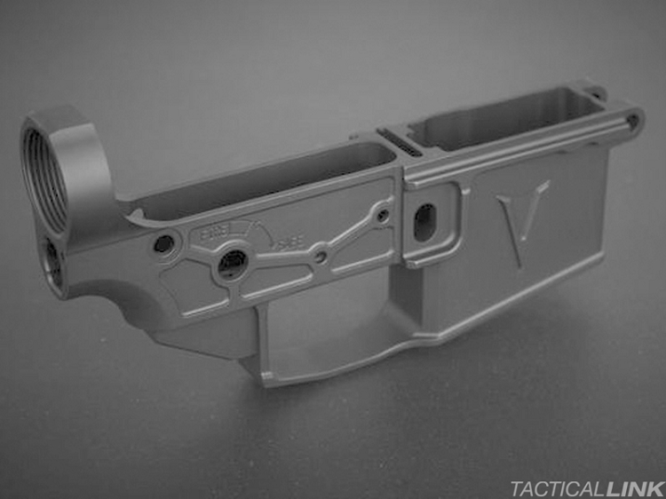 V7 Weapon Systems Billet 2055 Enlightened Lightweight AR15 Lower Receiver