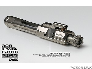 Lantac Full Mass Full Auto NiB Coated Enhanced Bolt Carrier Group (E-BCG Heavy) For .308 / 7.62 x 51MM Rifles
