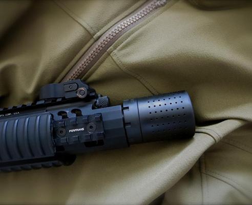 Ferfrans CQB Modular Compensator + Concussive Reduction Device For AR Style  7 62/ 308 Rifles