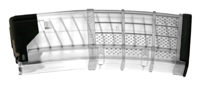 Lancer L5AWM 30 RND Translucent Clear Magazine
