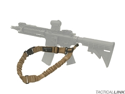Tactical Link Convertible Bungee QD Tactical Sling For AR Style Rifles