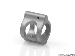 2A Armament Ultra Low Profile & Lightweight Non Adjustable Titanium .750 Inch Gas Block For AR15 Style Rifles - Set Screw