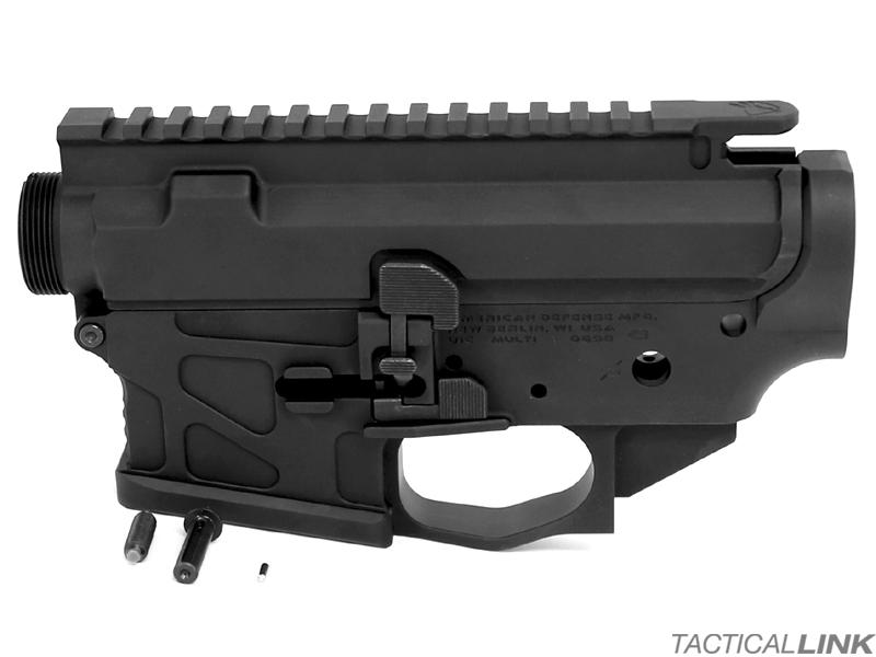 American Defense Manufacturing UIC Billet Ambi AR15 Lower Receiver