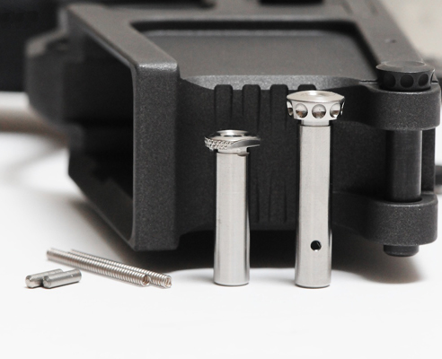 Battle Arms Development Titanium Enhanced Pin Set For AR15 Rifles - Raw