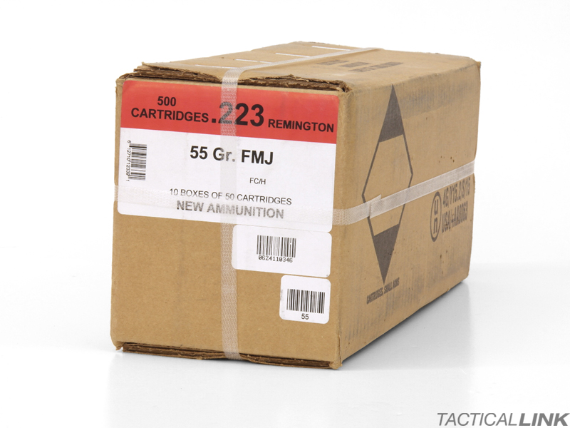Black Hills Ammunition .223 Rem 55 Gr FMJ - Factory New/500 Rounds