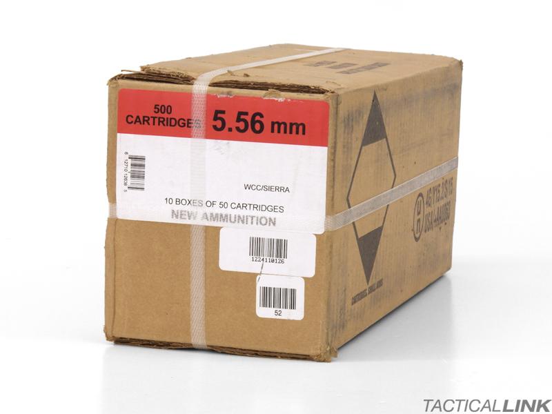 black hills ammunition 500 round case of 5 56 nato 69 gr sotm new