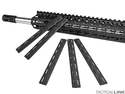Bravo Company 5.5 Inch KeyMod Rail Panel Kit - 5 Pack