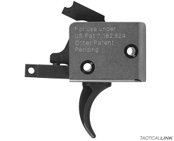 CMC Single Stage Curved Trigger For AR15 & AR10 Rifles - 91501