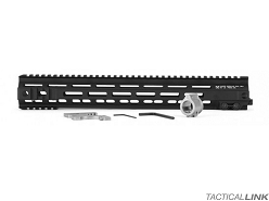 Geissele MK4 13 Inch Super Modular Rail MLOK Free Float Handguard For AR15 Style 5.56/.223 Rifles - Black