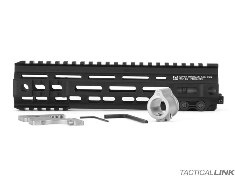 Geissele Mk4 95 Inch Mlok Handguard For Ar15 Style Rifles Black