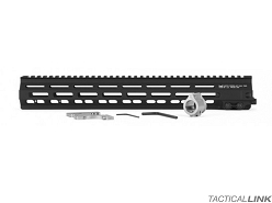 Geissele MK8 13 Inch Super Modular Rail MLOK Free Float Handguard For AR15 Style 5.56/.223 Rifles - Black