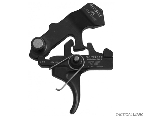 Geissele Super SCAR 2 Stage Trigger For FNH SCAR Rifles