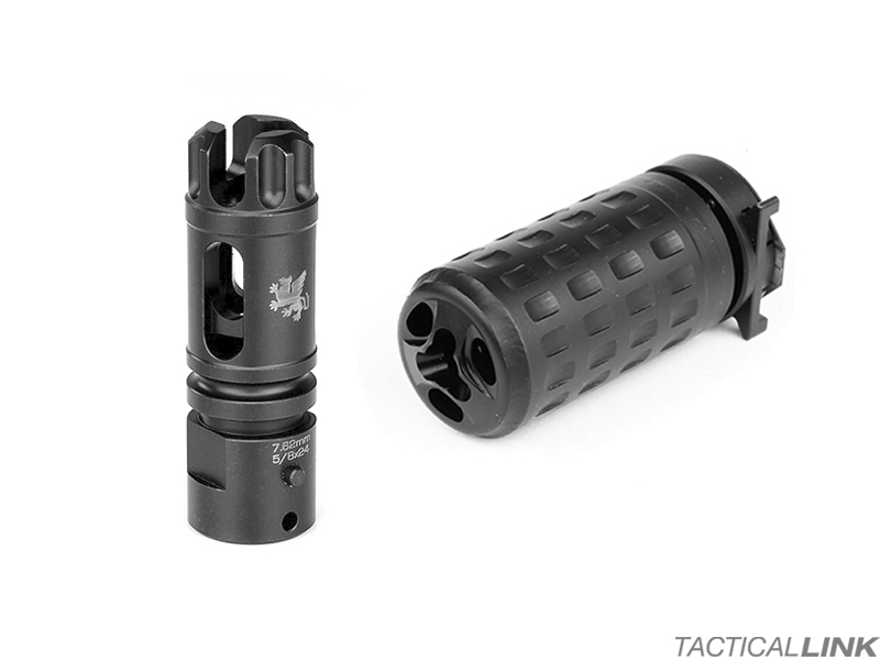 Griffin Armament M4SD Flash Comp For AR Style 7 62/ 308 Rifles