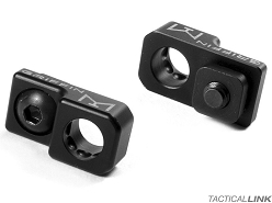Griffin Armament Lightweight Inline MLOK QD Sling Mount With Rotation Limiter - Black