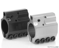 JP Rifles Adjustable Stainless Steel .750 Inch Gas Block For AR15 Style Rifles - Clamp On