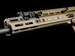 Kinetic Development Group 4.9 Inch MLOK MREX For SCAR Rifles - FDE