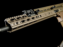 Kinetic Development Group SCAR MREX 6.5 Inch FDE Modular Receiver Extension Kit For SCAR Rifles