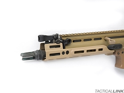 Kinetic Development Group 2.2 Inch MLOK MREX Mark II For SCAR Rifles - FDE