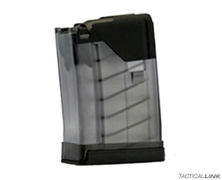 Lancer Systems L5AWM 10 Round AR15 Magazine - Translucent Smoke