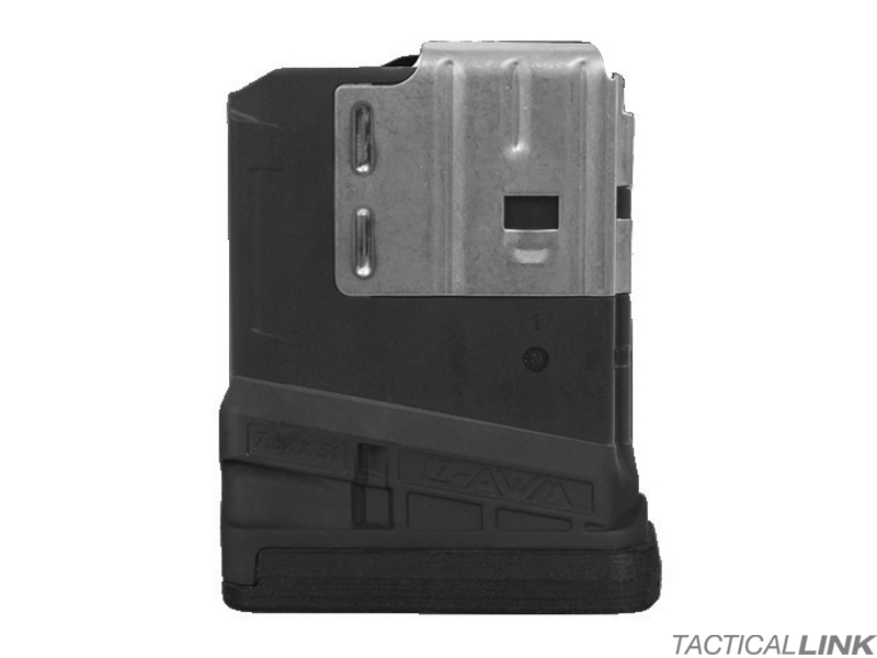 Lancer Systems L7AWM 10 Round Mag For 7.62/.308 Rifles - Opaque Black