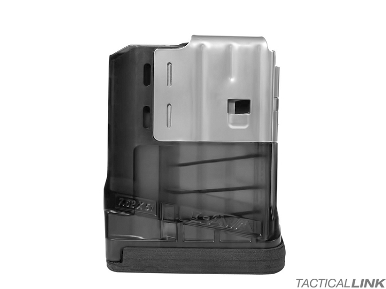 Lancer Systems L7AWM 10rd Mag For 7.62/.308 Rifles - Translucent Smoke